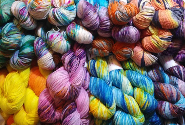 Chickadee yarns